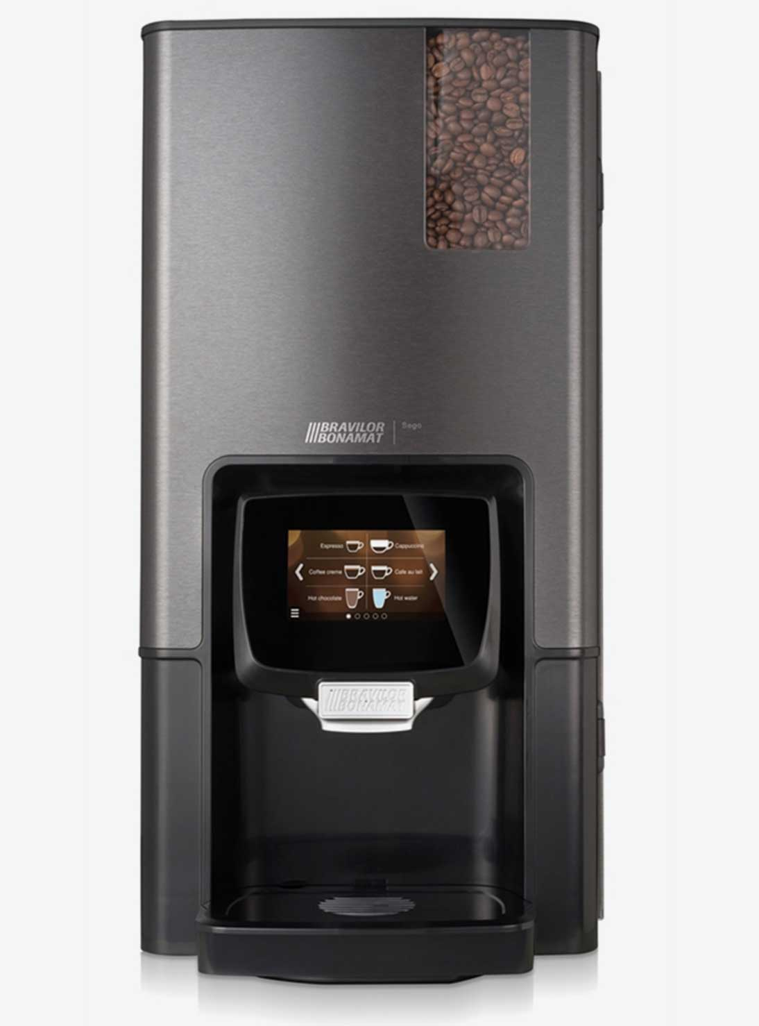 Sego nespresso machine and vending machine