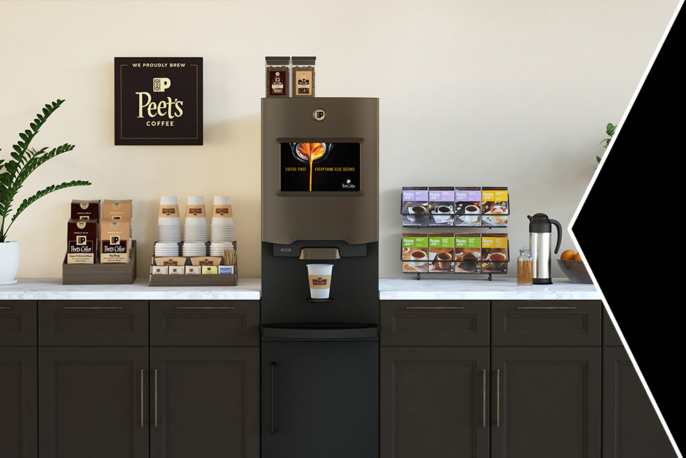 Peet's Coffee break room machine